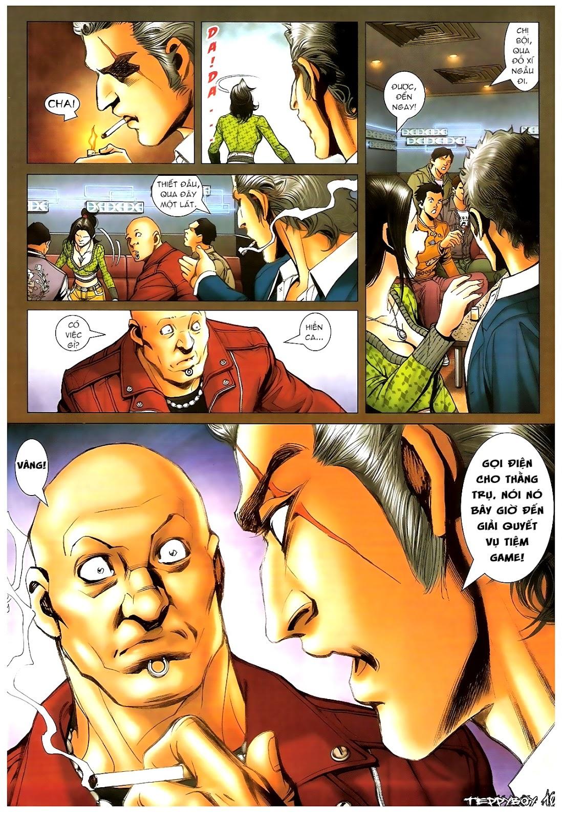 Người Trong Giang Hồ - Chapter 1379: Oan gia gặp nhau - Pic 8