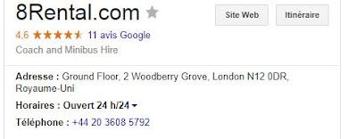 Фиктивный адрес в Лондоне мошенникoв 8rental.com