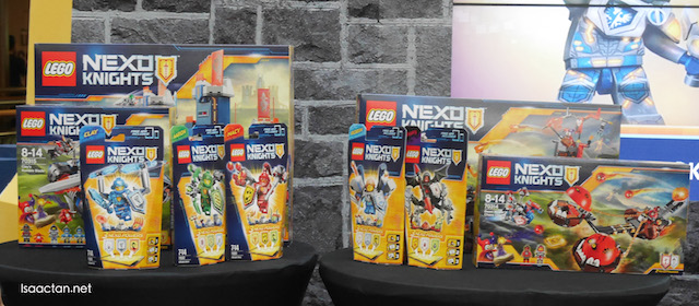Introducing the all-new LEGO NEXO Knights