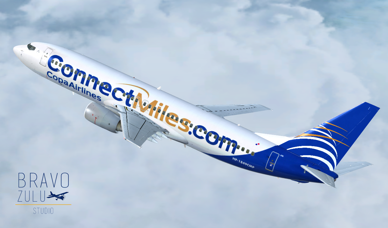 Boeing 737-800 Copa Airlines ConnectMiles com   Bravo Zulu