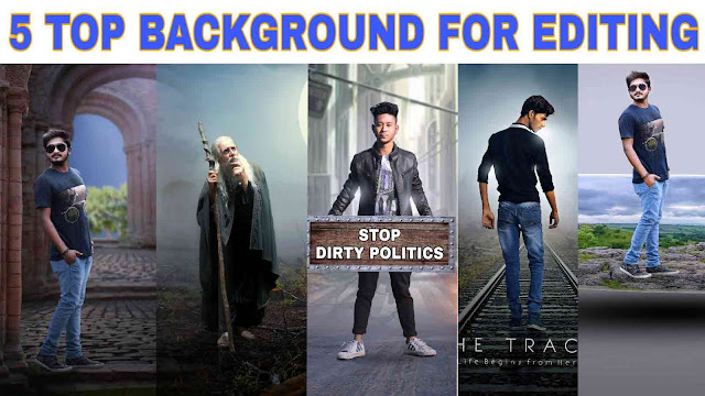 Top 5 Background With Photo Manipulation Ideas 2020