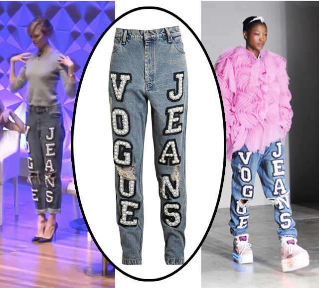 Ashish Vogue Jeans