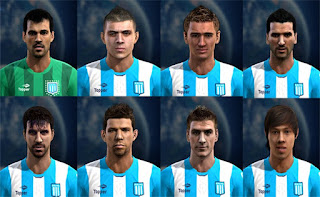 Faces Racing Club: Saja, Brian Fernandez, Noir, Voboril, Cerro, Grimi, Pillud, Oscar Romero, Pes 2013