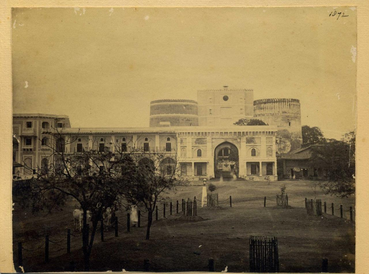 Bhadra Fort, Ahmedabad, Gujarat, India - 1872