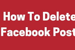 How to Remove A Post On Facebook 2019