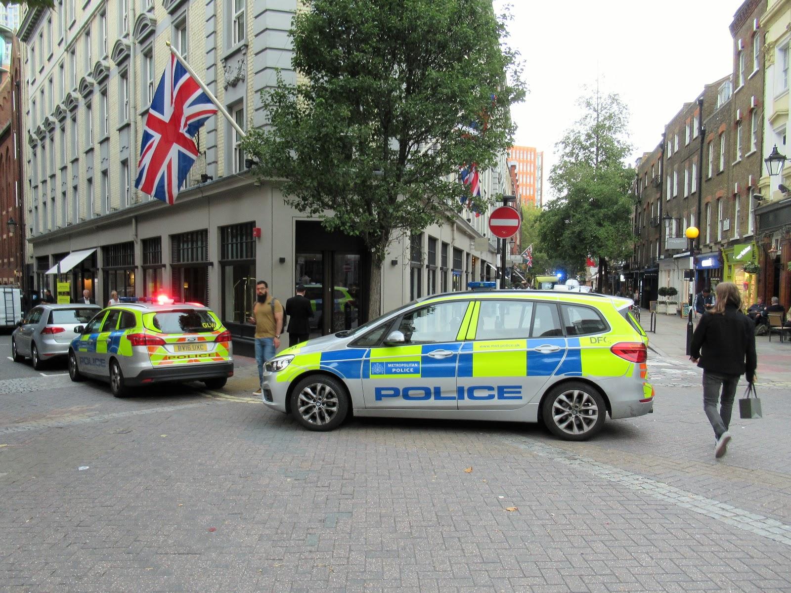 Martin Brookes Oakham Rutland England: Metropolitan Police and