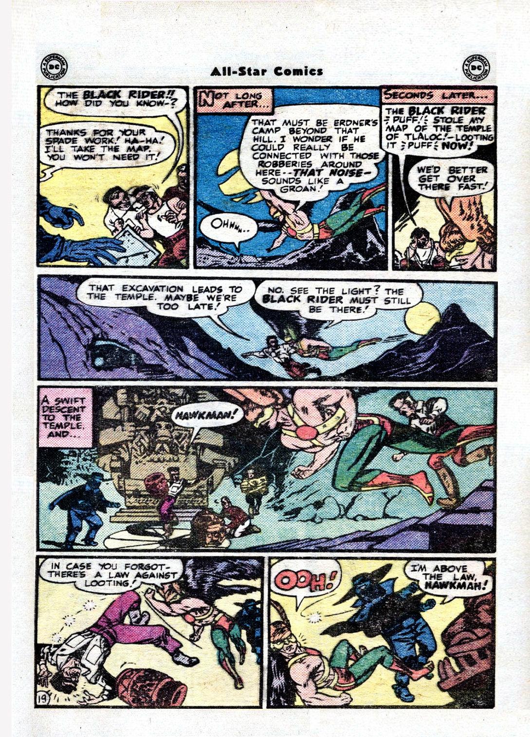Read online All-Star Comics comic -  Issue #36 - 23