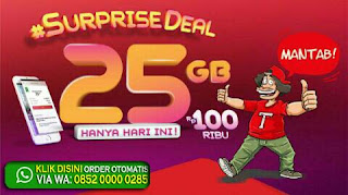 Daftar Surprise Deal 25gb Dari Telkomsel