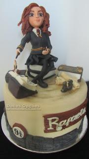harry potter hermione bragança bolos