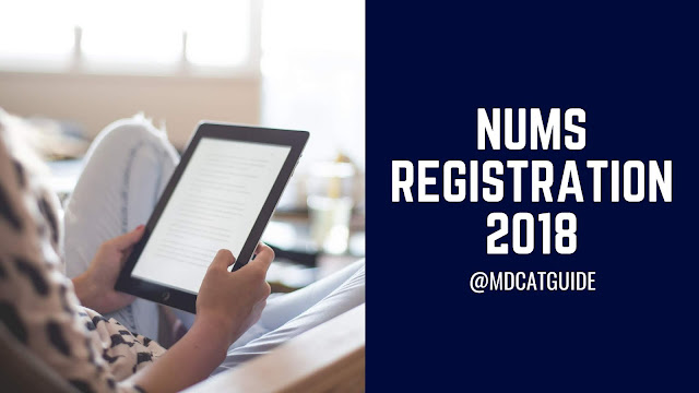 NUMS Registration 2018