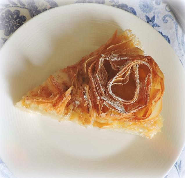 Ruffled Milk Pie