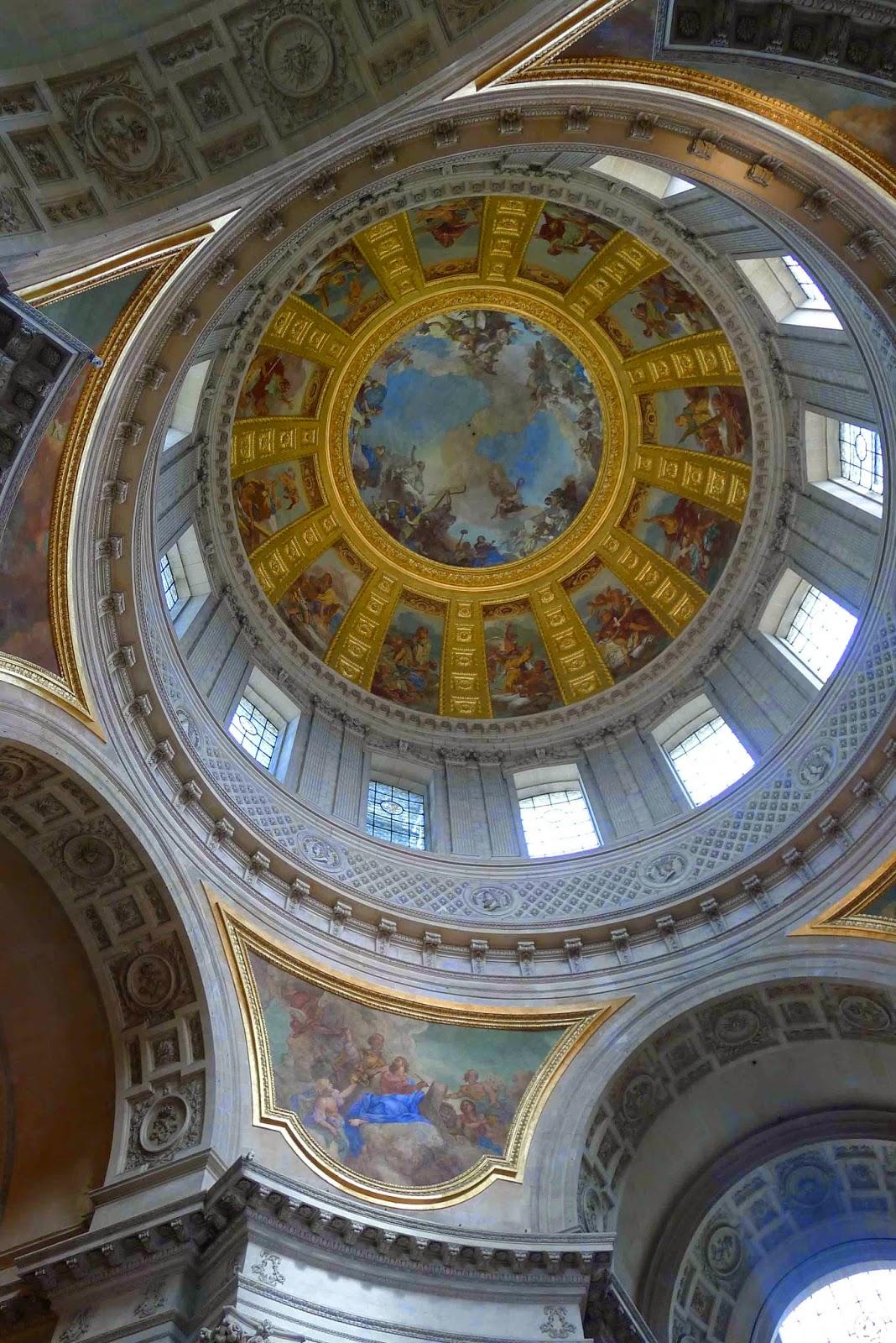 Napoleon's Tomb Ceiling