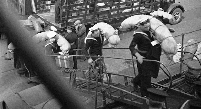 Royal Navy sailors 1 June 1941 worldwartwo.filminspector.com