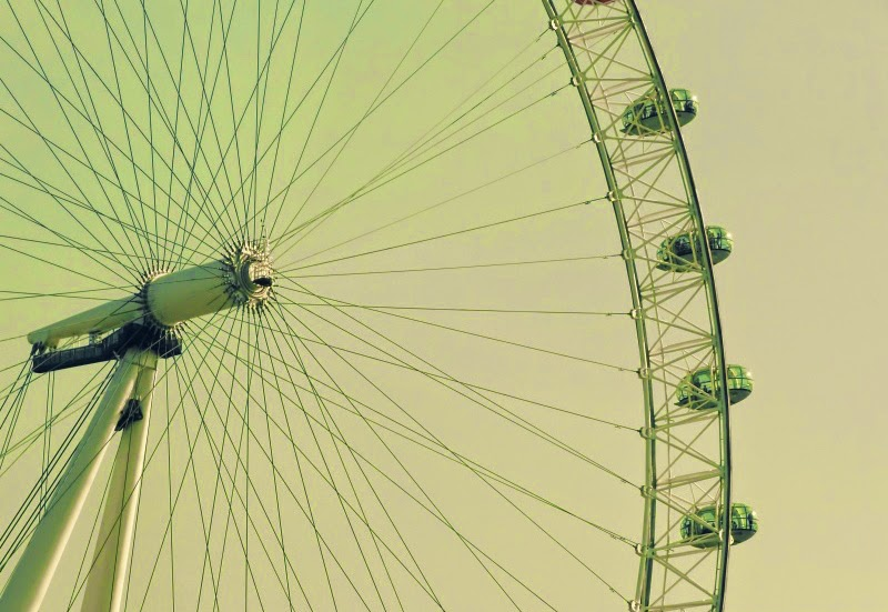 London Ferris Wheel Wallpaper