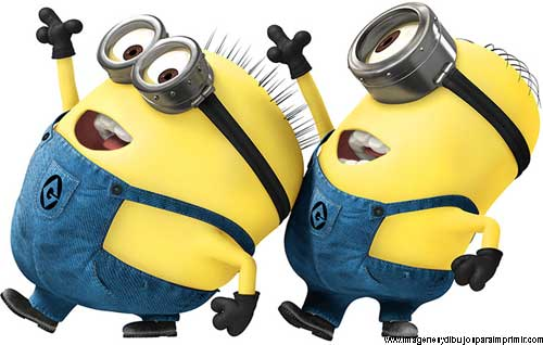 Minions Print Images And Pictures To