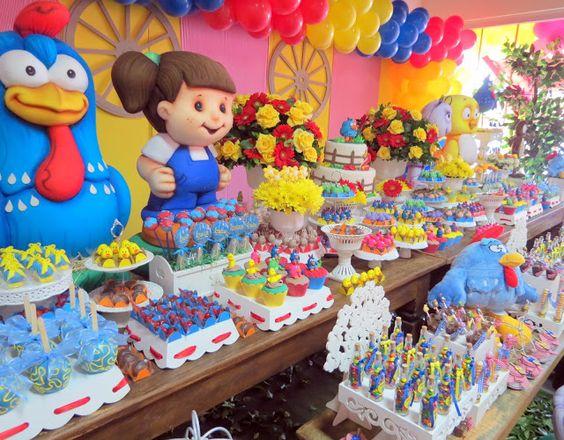 Muyameno Com Fiestas Infantiles Decoradas Con La Gallina Pintadita 1