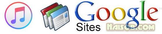 Begini cara upload file musik mp3 ke Google Site