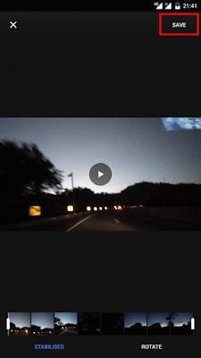 Cara Menstabilkan Video Menggunakan Google Photos5