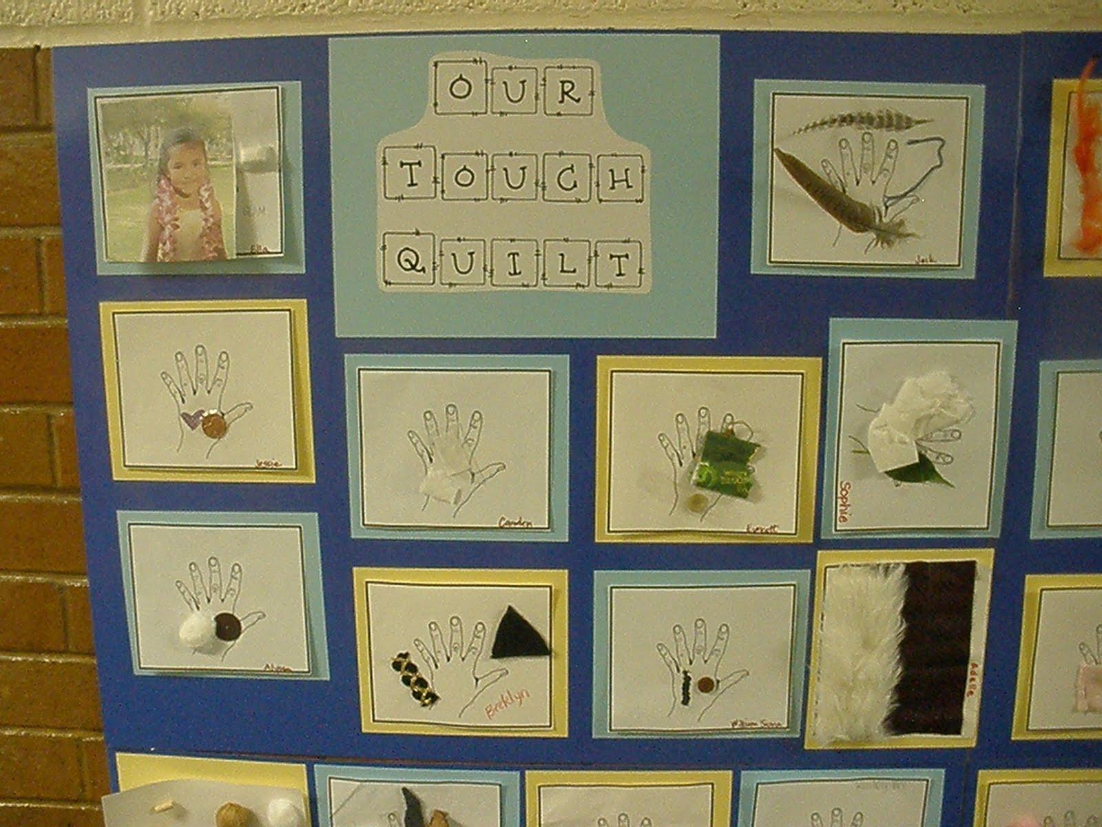 The Art Of Teaching A Kindergarten Blog The Sense Of Touch
