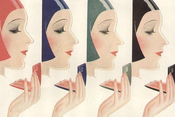 maquiagem vintage