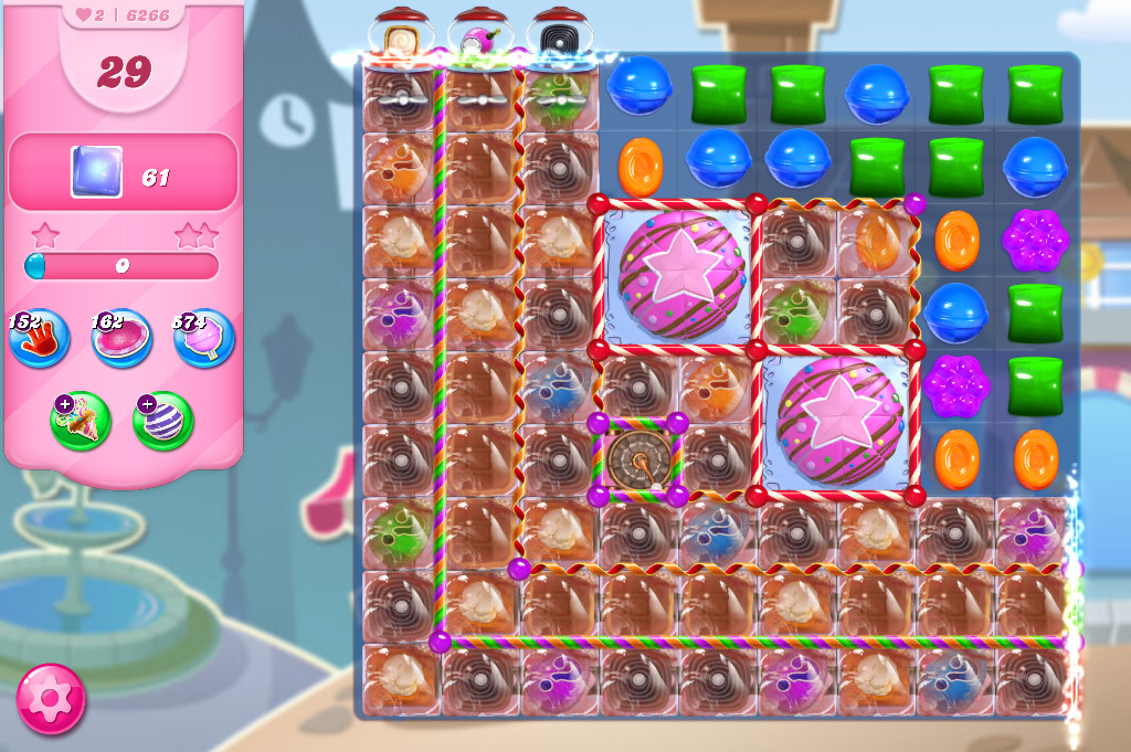 Candy Crush Saga level 6266