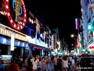BUI VIEN WALKING STREET. HO CHI MINH, SAIGÓN. VIETNAM