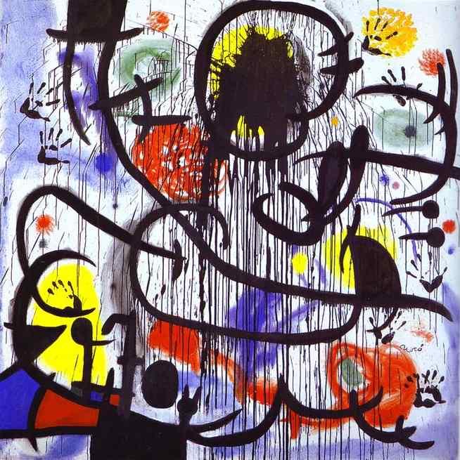 Resultado de imagen de blogspot, Joan Miró,  Mayo de 1968