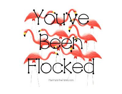 You've been pink flamingoed