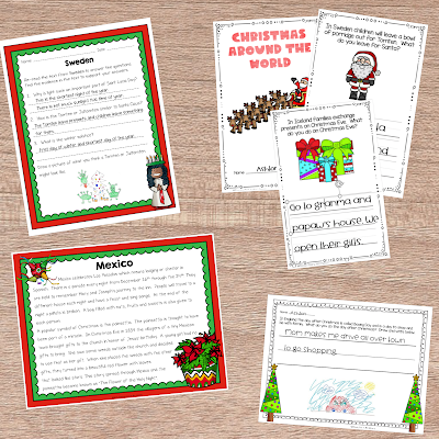 Holidays around the world lesson plans and printables