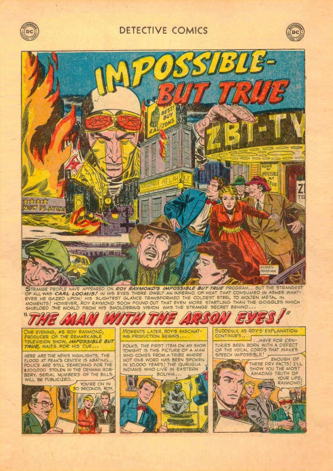Read online Detective Comics (1937) comic -  Issue #182 - 16