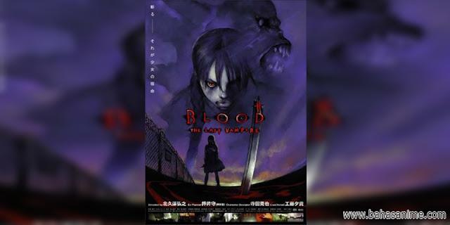 rekomendasi anime Blood The Last Vampire