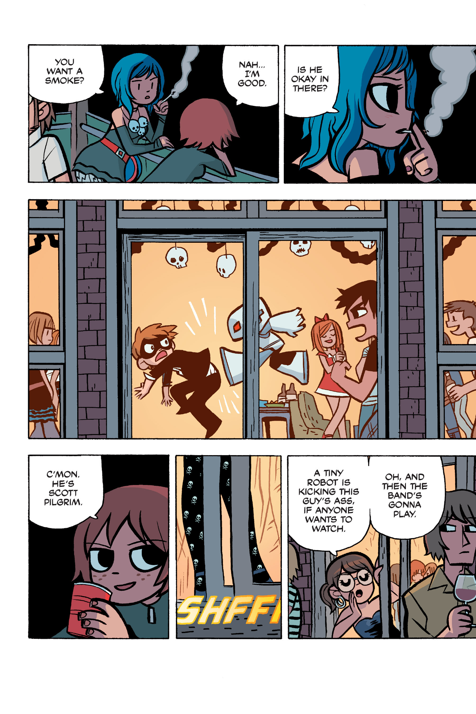 Read online Scott Pilgrim comic -  Issue #5 - 17