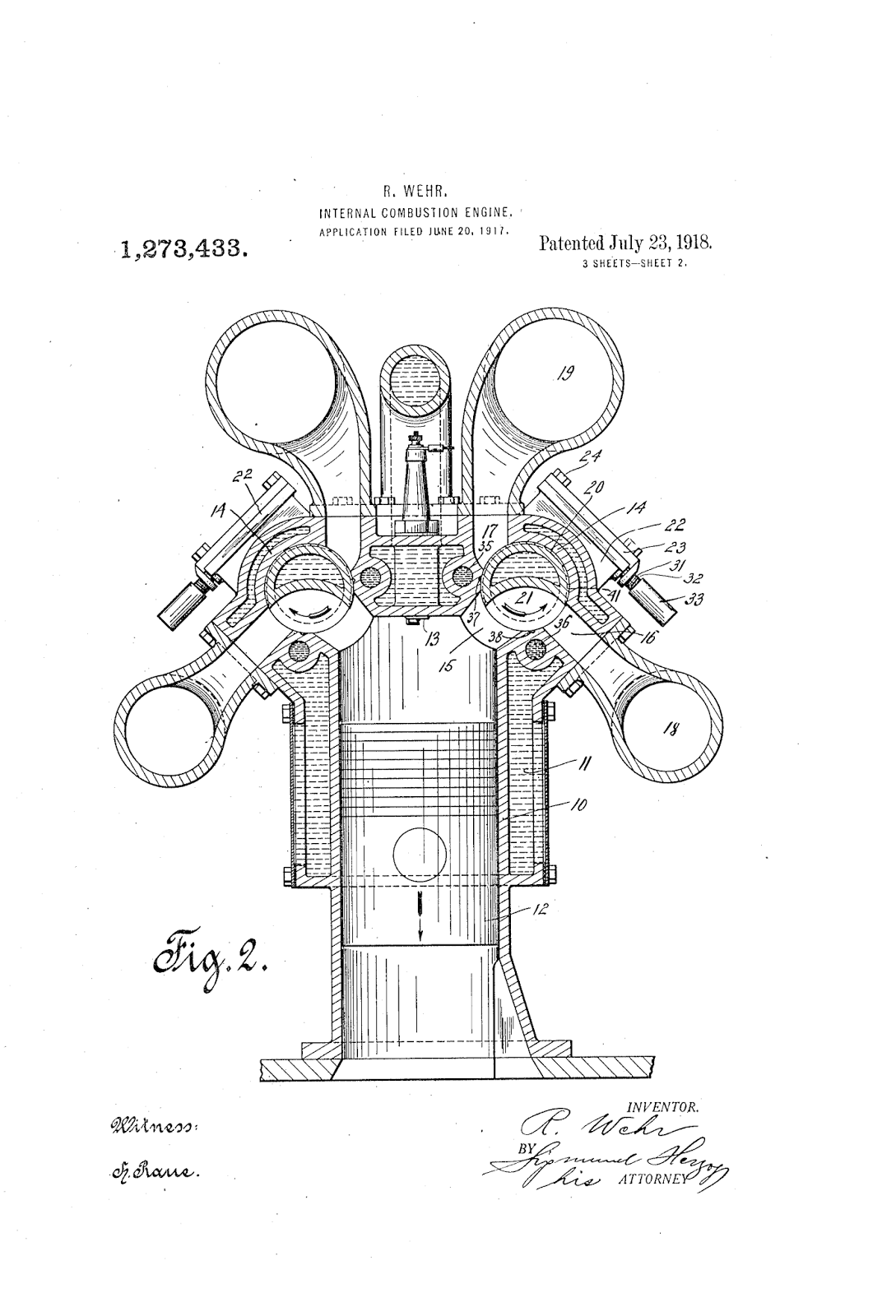 earliest internal combustion engine
