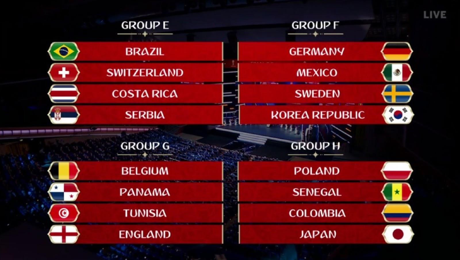 WORLD CUP 2018 B