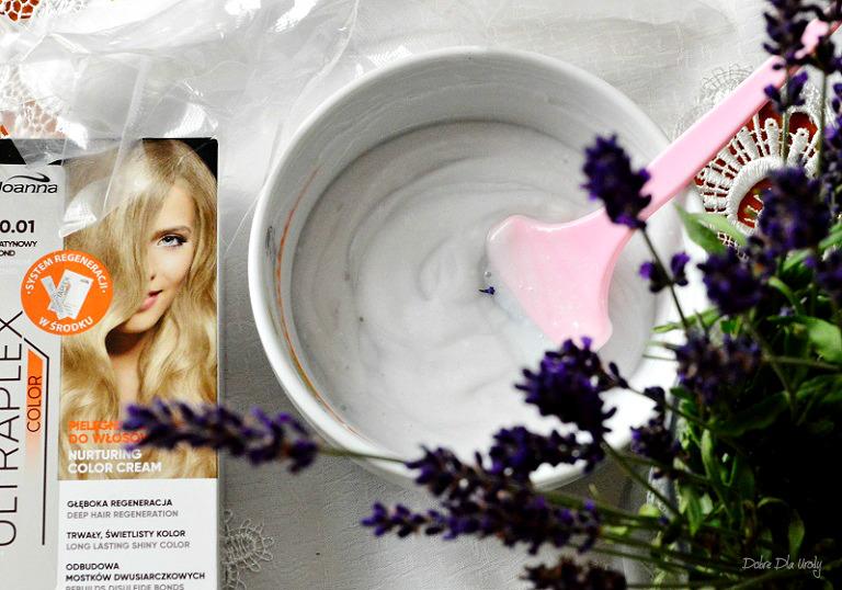 Joanna Ultraplex Color Platynowy Blond domowa koloryzacja