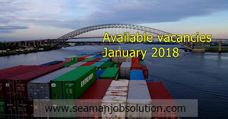 Ordinary seaman jobs hiring for container vessel