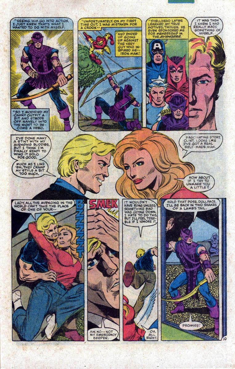Hawkeye (1983) Issue #1 #1 - English 11