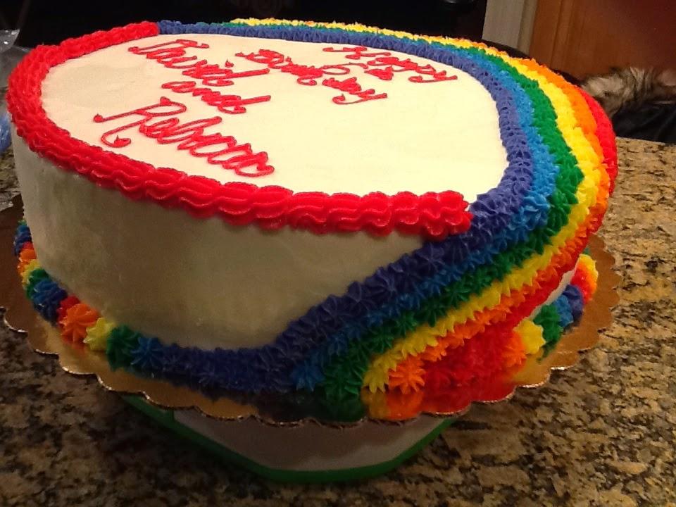 Rainbow Cake Recipe Joy Of Baking: A&L Bake-A-Licious