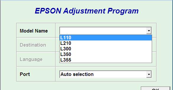 Download Resetter Epson L110 L210 L300 L350 L355 Mudah