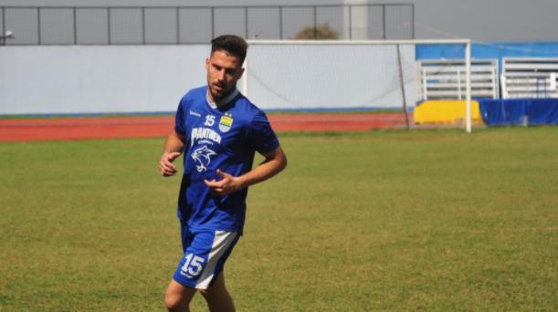 Jonathan Bauman ingin Raih Gelar Bersama Persib pada Debutnya di Liga Indonesia