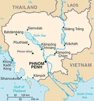 Gambar Negara Kamboja Sistem Pemerintahan Asia Tenggara Kamboja