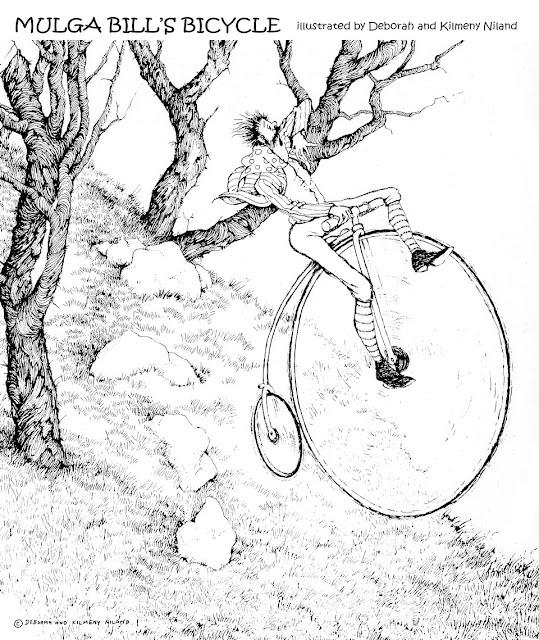 Illustration Up Close: Mulga Bill's Bicycle...Part 2