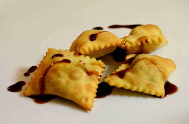 Calzoncelli di castagne e vin cotto d'Aglianico, foodfilebasilicata