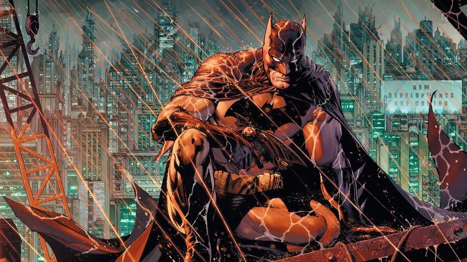 Batman, Watching, DC, Comics, 4K, #6.1951