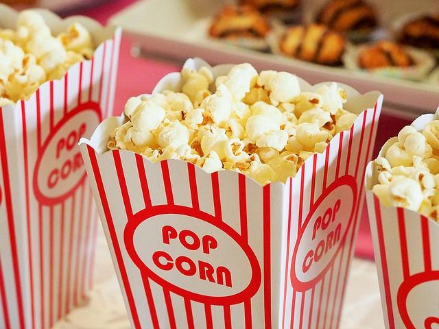 snack popcorn