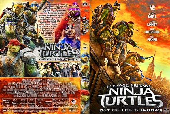 Teenage Mutant Ninja Turtles: Out of the Shadowsaka – Latino, Inglés