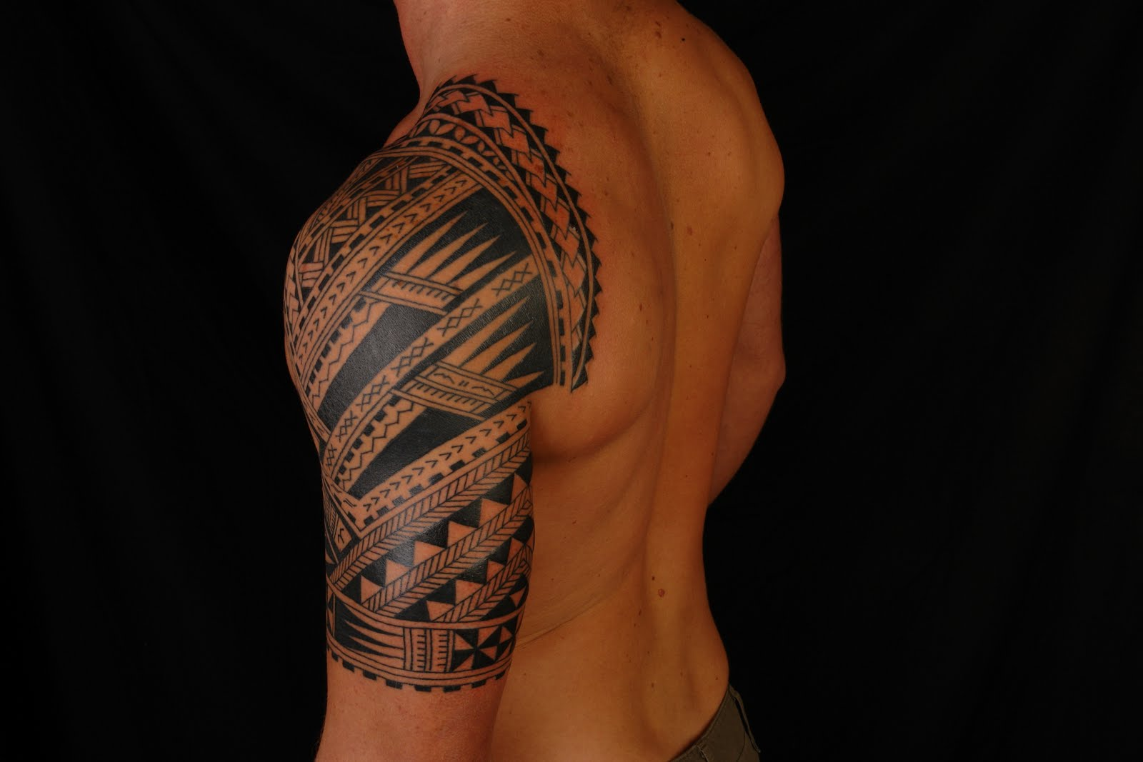 cf6ce5a8a4 SHANE TATTOOS: Polynesian Half Sleeve on Codie