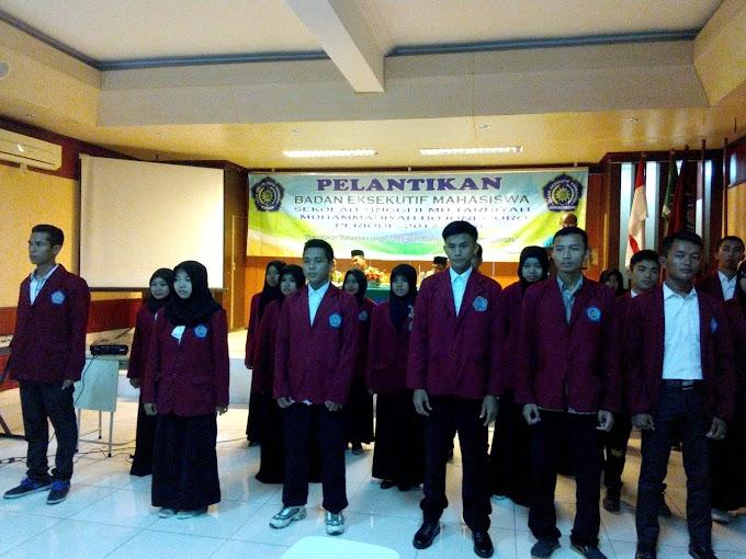 Pelantikan BEM STIT Muhammadiyah Bojonegoro