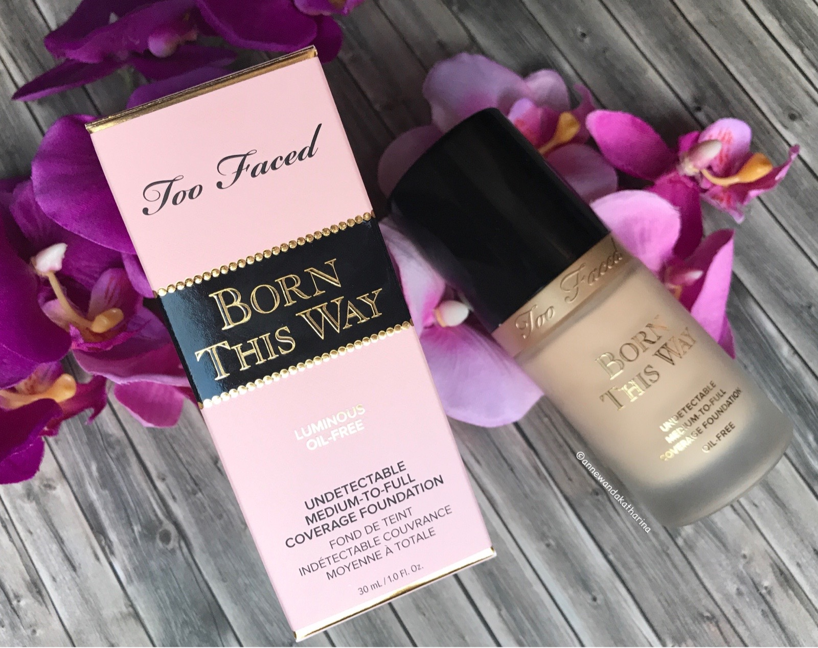 annewandakatharina too faced born this way foundation. Black Bedroom Furniture Sets. Home Design Ideas