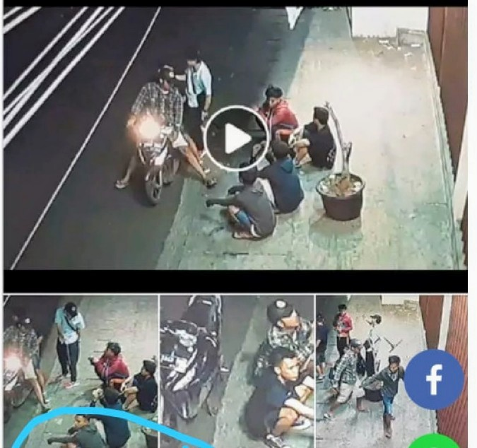 Videonya Viral di Medsos 'Pelaku Perampok Diciduk Unit Reskrim Polsek Tambora